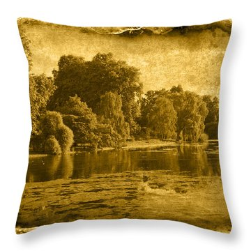 Vintage06 Throw Pillow by Svetlana Sewell