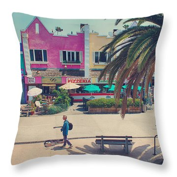 Waitin' For Victorio Throw Pillow by Laurie Search
