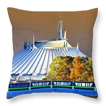 Walts Modern Vision Throw Pillow by David Lee Thompson