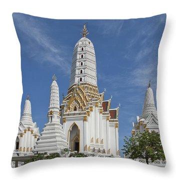 Wat Phitchaya Yatikaram Prangs Dthb1186 Throw Pillow by Gerry Gantt
