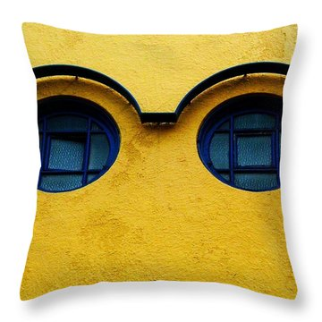 Watching You ... Throw Pillow by Juergen Weiss