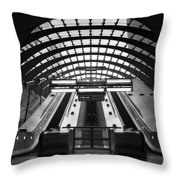Way Out Throw Pillow by Ivo Kerssemakers