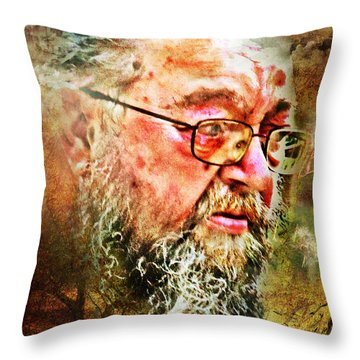 Wayward Son Throw Pillow by Rhonda Strickland