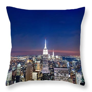 Wealth And Power Throw Pillow by Az Jackson