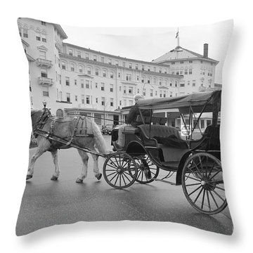 When Life Was Simple Throw Pillow by Catherine Reusch  Daley