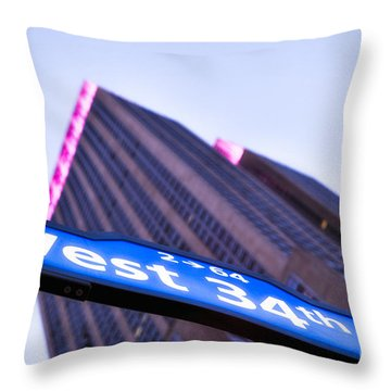 Where Dreams Are Made Throw Pillow by John Farnan