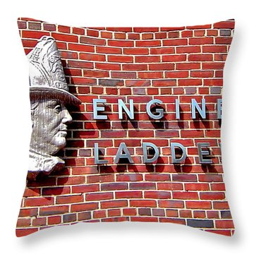 Where It Started Throw Pillow by Rick  Monyahan