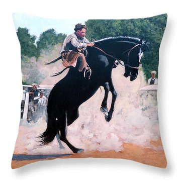 Whoa Nelly Throw Pillow by Tom Roderick
