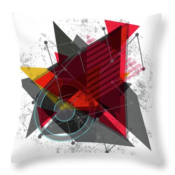 Why Me Throw Pillow by Don Kuing