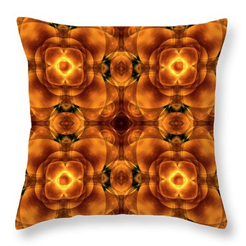 Worlds Collide 8 Throw Pillow by Mike McGlothlen