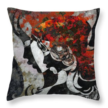 You Are The Only One 3 Throw Pillow by Angelina Vick