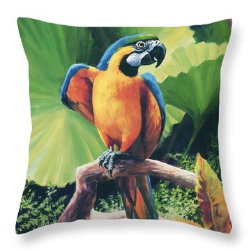 You Got To Be Kidding Throw Pillow by Laurie Hein