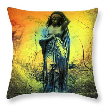 You've Come A Long Way Baby Throw Pillow by Bill Cannon