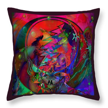 Ziggy  Throw Pillow by Kevin Caudill