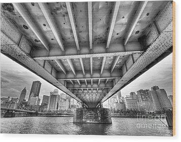 0308 Pittsburgh 5 Wood Print by Steve Sturgill