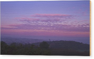 Cromer Sunrise  Wood Print by David French