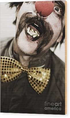Dose Of Laughter Wood Print by Jorgo Photography - Wall Art Gallery