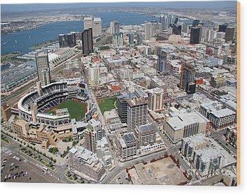 Downtown San Diego Wood Print by Bill Cobb