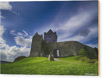 Dunguaire Castle Ireland Wood Print by Giovanni Chianese