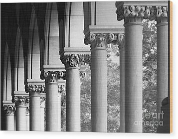 Memorial Hall At Harvard University Wood Print by University Icons