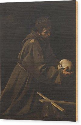 Italy, Lazio, Rome, Santa Maria Della Wood Print by Everett