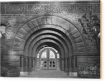Lake Forest College Durand Art Institute Wood Print by University Icons