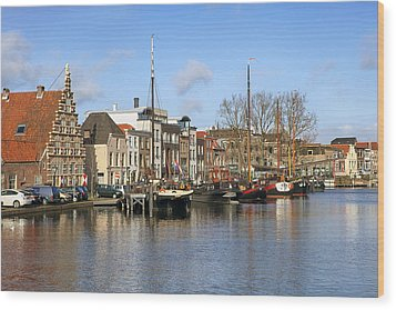 Leiden Wood Print by Joana Kruse