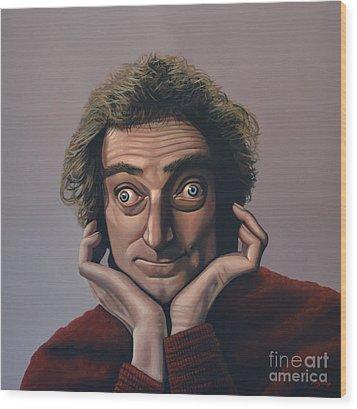 Marty Feldman Wood Print by Paul Meijering