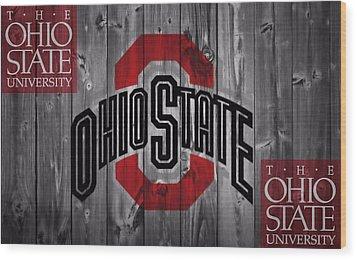 Ohio State Buckeyes Wood Print by Dan Sproul