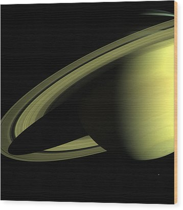 Outer Space Two Nine Nine Wood Print by Nasa Usgs