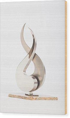 Rain Wood Print by Jon Koehler