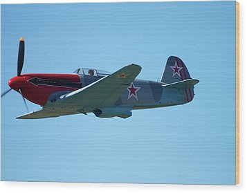 Yakovlev Yak-3 - Wwii Russian Fighter Wood Print by David Wall