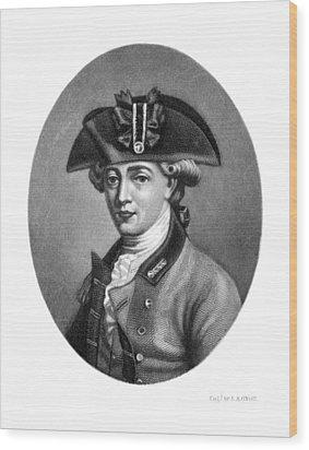 John Andre (1751-1780) Wood Print by Granger