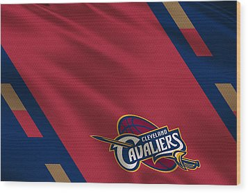Cleveland Cavaliers Uniform Wood Print by Joe Hamilton