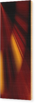 Abstract Art Wood Print by Heike Hultsch