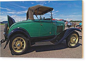 1931 Model T Ford Wood Print by Steve Harrington