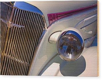 1937 Chevy 4 Door Sedan Wood Print by David Patterson