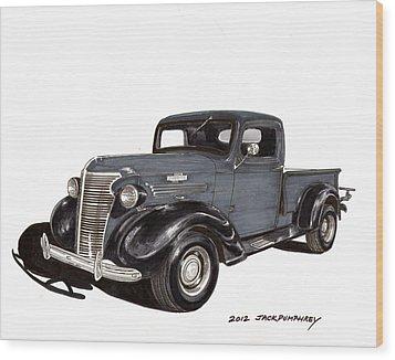 1938 Chevy Pickup Wood Print by Jack Pumphrey