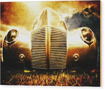 1939 Ford Roadster Wood Print by Phil 'motography' Clark