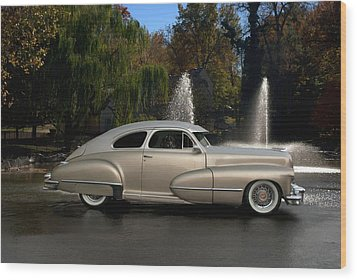 1947 Cadillac Coupe Rodtique Wood Print by Tim McCullough