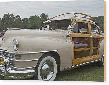 1947 Chrysler Wood Print by Jack R Perry
