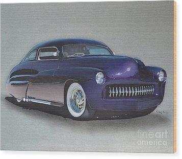 1949 Mercury Wood Print by Paul Kuras