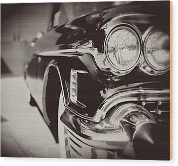 1950s Cadillac No. 1 Wood Print by Lisa Russo