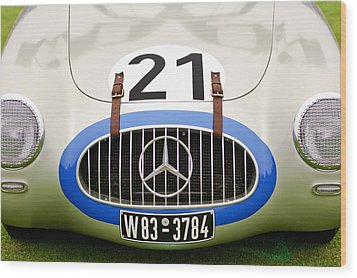 1952 Mercedes-benz W194 Coupe Wood Print by Jill Reger