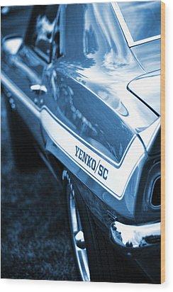 1969 Chevrolet Camaro Yenko Sc 427 Wood Print by Gordon Dean II