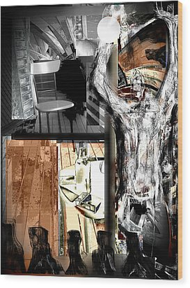 Before The After Life Wood Print by Ruth Clotworthy