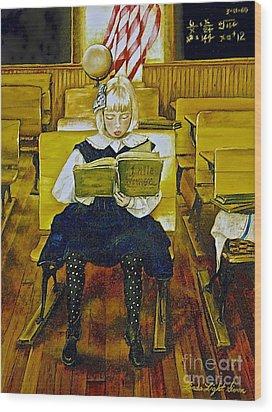 Lessons To Last A Lifetime Wood Print by Linda Simon
