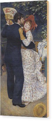 Renoir, Pierre-auguste 1841-1919. Dance Wood Print by Everett