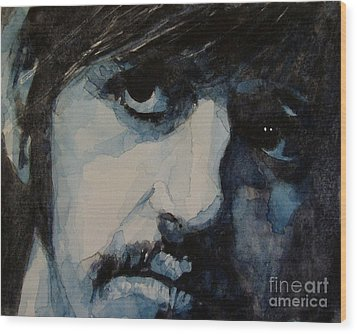 Ringo Wood Print by Paul Lovering