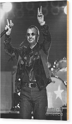 Ringo Starr And His All Starr Band Wood Print by Concert Photos
